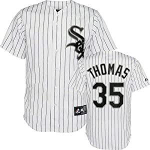 Majestic Athletic Chicago White Sox Frank Thomas Replica Home Jersey by Majestic