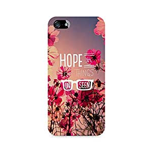 NXT GEN Hope in Unseen Premium Printed Mobile Back Case For Apple iPhone 5/5s