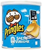 Pringles Salt and Vinegar 40 g (Pack of 12)