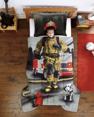 Why Choose Firefighter Ultra Soft Microfiber 2-Piece Twin Comforter Sham Set