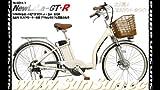 台数限定 アクセル付き フル電動自転車 NewLaLa-GTR ホワイト
