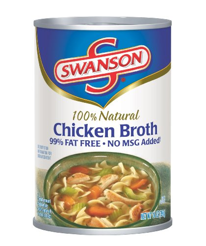 Swanson Natural Goodness Chicken Broth, 14-Ounce Cans (Pack of 24)