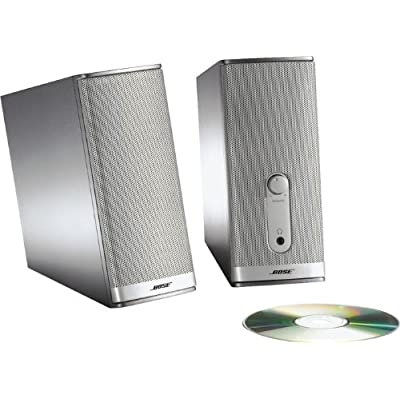 bose desktop speakers. chances are, your computer is a major source of entertainment. why rely on standard speakers with so much rich content at fingertips? bose desktop e