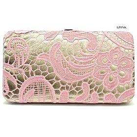 Light Pink Fleur Wallet
