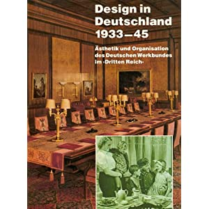 Design in Deutschland 1933-1945