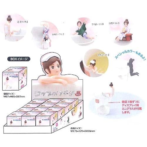 컵의 후치 자 피규어 마스코트 온천 버젼 BOX- (2014-04-17)