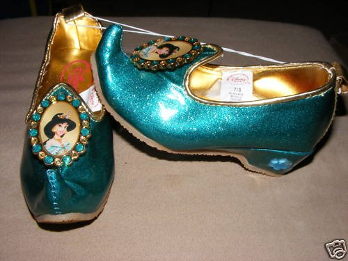 Light-Up Jewel Princess Jasmine Shoes