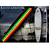 Kahuna Creations Retrofish Beach Board Rasta 48