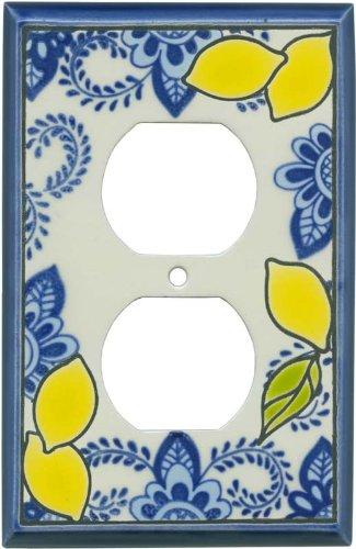 FRESH LEMONS Switchplates Outlet Covers, Rocker, GFCI Duplex