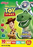 Kellogg's Disney Pixar Toy Story Fruit Snacks, 8-ounce, 10 Pouches (Pack of 5)