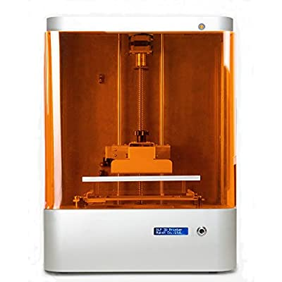 "Makex M-one Desktop DLP 3d Printer, 145 Micron Resolution, up to 20 Micron Layer, 5.7""x4.3""x6.7"" Maximum Building Volume"
