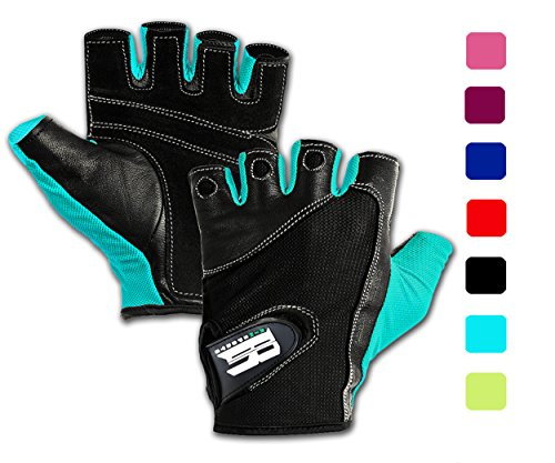 Weight Lifting Gloves For Gym-Gym Gloves For Women w/ Washable-Ideal Rowing Gloves, Workout Gloves,Crossfit Gloves,Training Gloves, Support Gloves-Premium Gloves For Lifting Weights Turquoise S (99 Dollar compare prices)