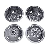 Pacific Dualies 49-1608 Polished 16 Inch 8 Lug  Stainless Steel Wheel Simulator Kit for 1985-2000 Chevy GMC 3500 Truck 1980-1999 Ford F350 1985-1999 Dodge Ram 3500