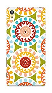 Amez designer printed 3d premium high quality back case cover for Sony Xperia Z5 Premium (Floral Pattern)