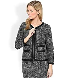 Ladies Formal Wool Blazer Skirt Suit