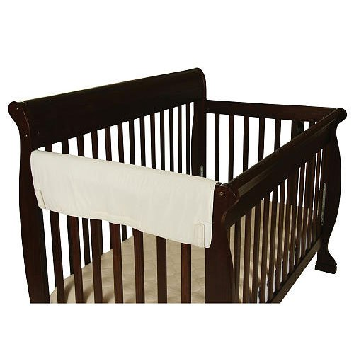 Leachco Easy Teether XL Side Rail Crib Cover Ivory- 1 Pack