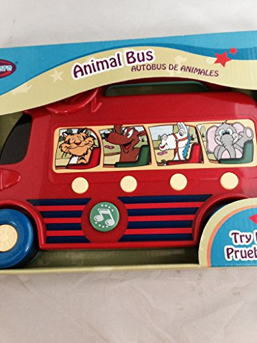 Animal Bus with 4 Animal Sounds, Press for Sound and Melodies. Battery Operated, Batteries Included - 1