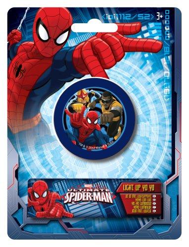 Ultimate Spider-Man - Yoyó con luz (Sambro SPMU-304)