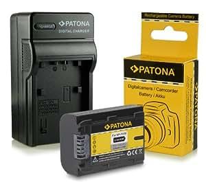 Chargeur + Batterie NP-FH50 pour Sony CyberShot DSC-HX1 | DSC-HX100V | DSC-HX200V - DSLR Alpha 230 DSLR-A230 | 330 DSLR-A330 | 380 DSLR-A380 | 390 DSLR-A390 - Camcorder DCR-DVD Series | DCR-HC Series et bien plus encore...