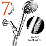 HotelSpa® AquaCare Series Luxury 7-setting Spiral Hand-Shower...