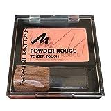 MANHATTAN Powder Rouge, 53N Fresh Peach, 1er Pack (1 x 5 g)