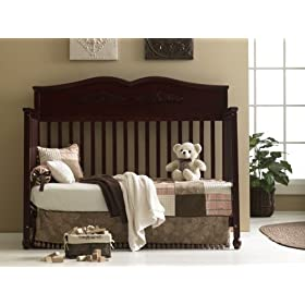 Graco Victoria Non Drop Side 5 In 1 Convertible Crib