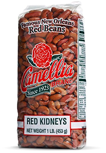 Camellia Brand Red Kidney Beans - Dry Bean, 1 Pound Bag (Dried Chili Beans compare prices)