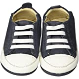 Old Soles Baby Boys' Eazy Tread (Infant/Toddler) - Distressed Navy - 20 EU/4.5 US