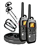 Uniden Submersible 50 Mile FRS/GMRS Two-Way Radios with Charging Kit - Dark Grey (GMR5089-2CKHS)