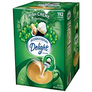 International Delight Irish Creme Liquid Creamer, 192-Count Single-Serve Packages $10.35