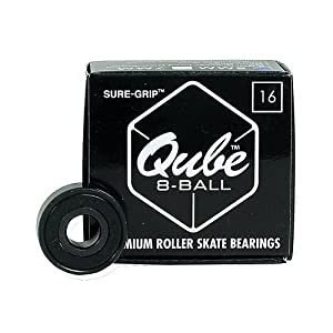 Sure Grip International QUBE 8-Ball Skate Bearings 2013 8mm 8mm