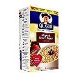 Quaker Instant Oatmeal Maple & Brown Sugar 15.1 OZ (430g)