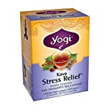 Yogi Teas Kava Stress Relief Tea Bags, 16 Count