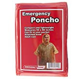 Emergency Poncho, Emergency Rain Gear, Weather Protection, Emergency Zone ® Brand