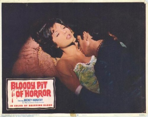 Bloody Pit of Horror-Poster Movie F 11 x 14 cm, 28 x 36 cm, motivo: Topolino, Louise Hargitay Barrett Walter Brandi Moa Thai Ralph Zucker Albert Gordon