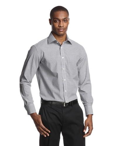 Acquaviva Men's Checked Dress Shirt