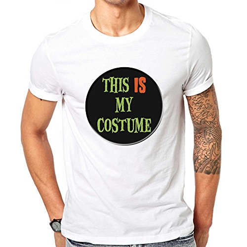 GullPrint Men's Halloween This Is My Costume T Shirt