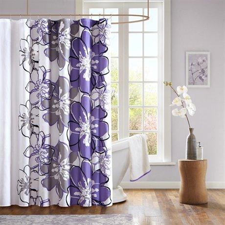 mizone allison shower curtain