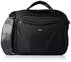 Travel Black 15.4 Inches Laptop Bag - 5 Pockets
