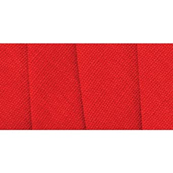 Wrights 117-206-076 Extra Wide Double Fold Bias Tape, Scarlet, 3-Yard