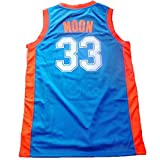NO.33 Jackie Moon Flint tropical semi-professional basketball movie throwback jerseys stitched [Please order the real seller:New Jordon] white / green S-XXL