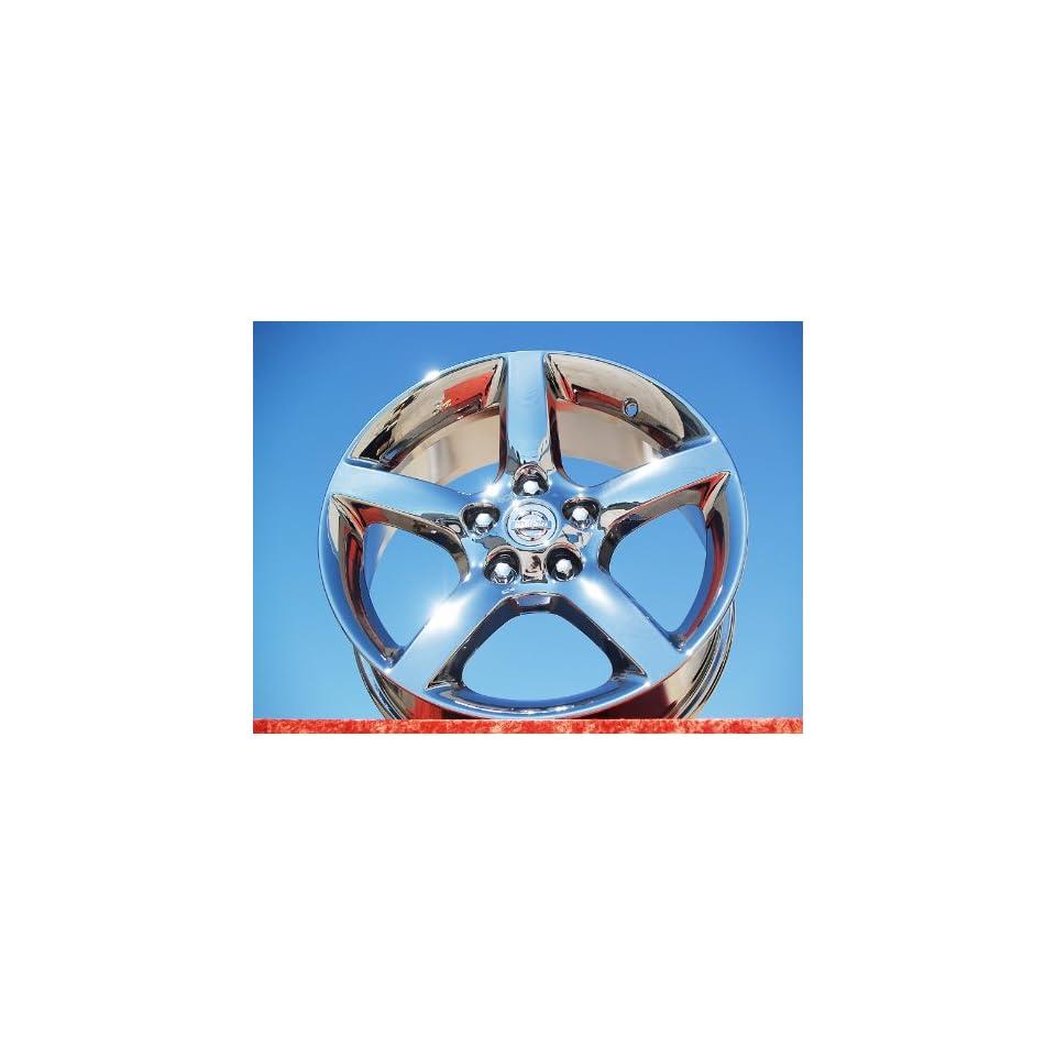Altima Set of 4 genuine factory 17inch chrome wheels Automotive