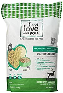 I and Love and You Dog Dehydrated-In the Raw Lamb Recipe, 5.5-Pound