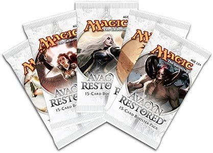 6 (Six) Packs Of Magic The Gathering - Mtg: Avacyn Restored Booster Pack Lot (6 Packs) front-902819
