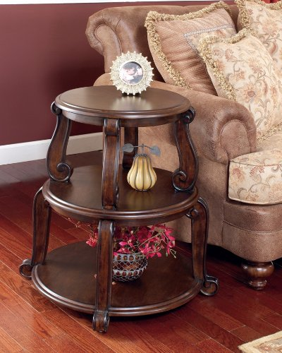 Image of Drum End Table by