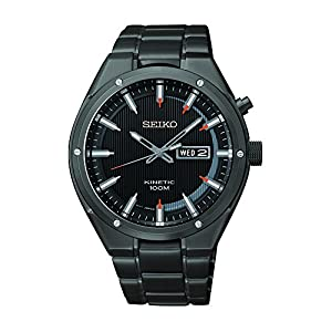 Seiko Men's SMY157 Analog Display Japanese Quartz Black Watch