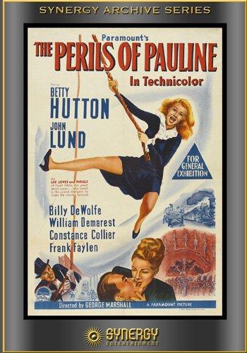 Злоключения Полины (Полин) / The Perils of Pauline (Джордж Маршалл / George Marshall) [1947, США, Комедия, музыкальный,DVDRip] 2MVO + Original