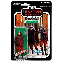 Naboo Royal Guard Episode I VC83 Star Wars Vintage Collection Action Figure