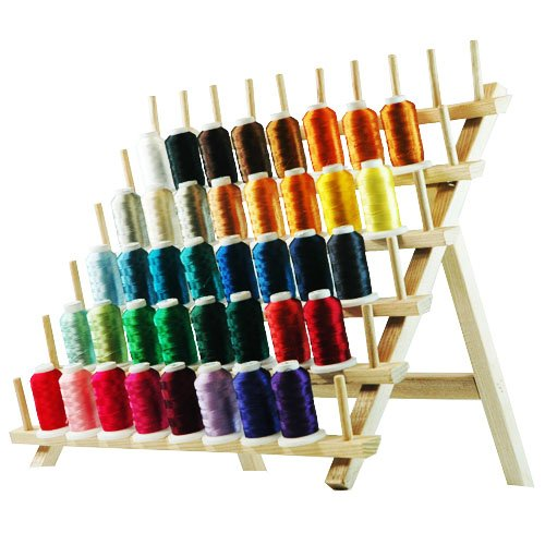Spool polyester embroidery machine thread set vibrant