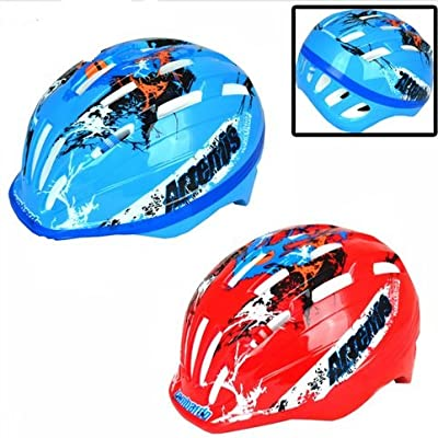 Boys / Girls Mountain Bike Bicycle Cycle Helmets Bi Adjustable Kids Childrens by TOOL-GENIUS LTD